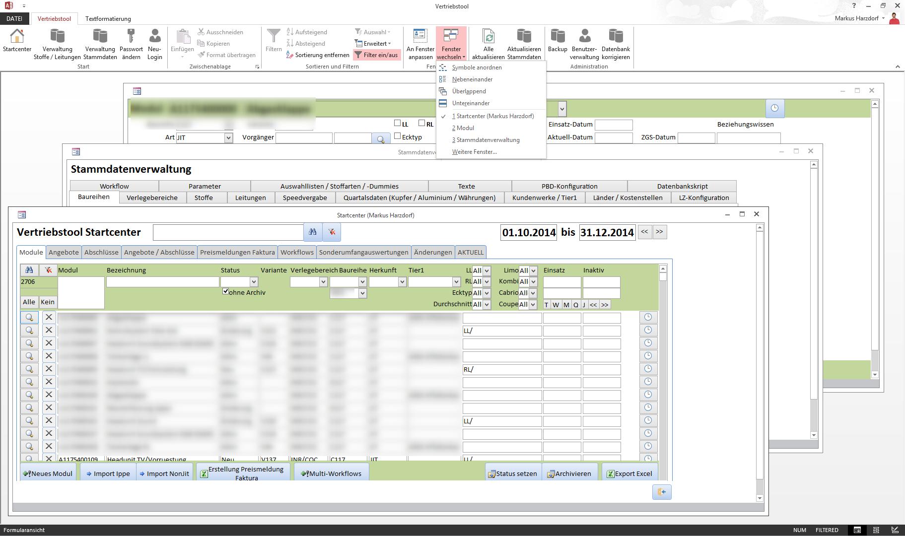 Vertriebstool Solus Softwaresolus Software